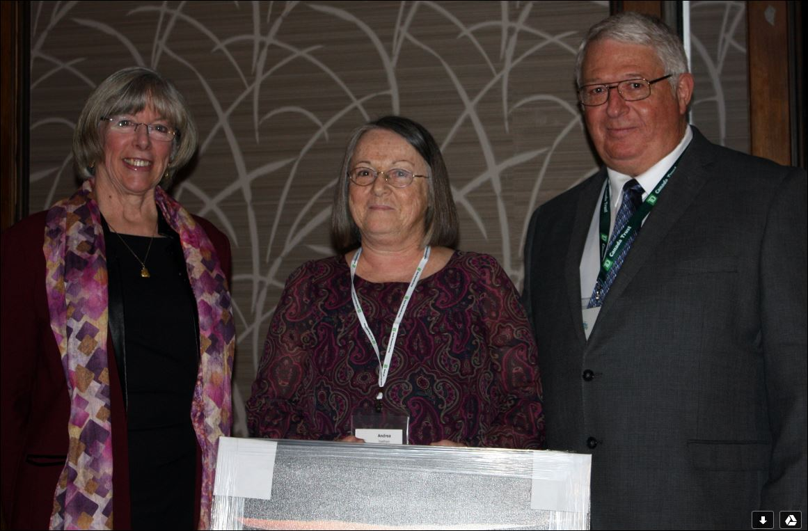 Andrea Eastham's Contributions Honoured!
